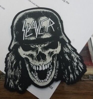 SLAYER PATCH NEW 2016 VINTAGE RARE COLLECTABLE WOVEN ENGLISH IMPORT