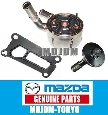 Oem Engine OIL Cooler Kit  MAZDA 3 5 6 CX-7 CX7 LF6W-14-700A Genuine Parts