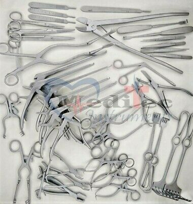 Codman Orthopedic Surgical Instruments 40 Pcs Set By Mti