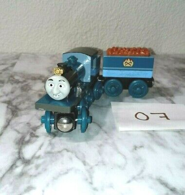 UhAuthentic Thomas & Friends Magnetic Wooden FERDINAND & TENDER Train Car #07