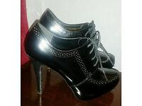 Next Lace Up Shoe Boots 6.5UK