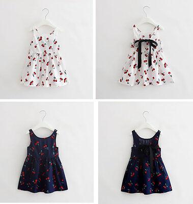 Summer Baby Girl Clothes Newborn Toddler Cotton Sleeveless D