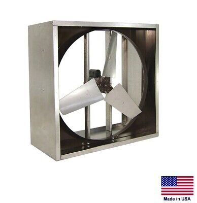 Exhaust Fan Commercial - Direct Drive 24 - 12 Hp - 115v - 1 Phase - 5910 Cfm
