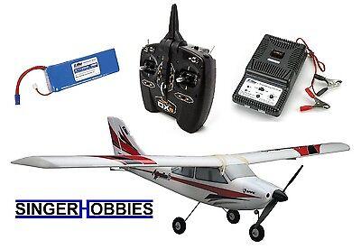 E-Flite Apprentice S 15e SAFE RTF Radio Control Airplane DXe Radio EFL3100E HH for sale  Martinsville