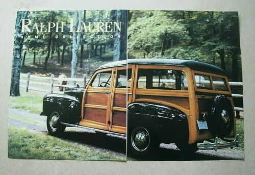 Ralph Lauren HOME COLLECTION 6-page 1998 Ad Vintage/Magazine/Print/Fashion