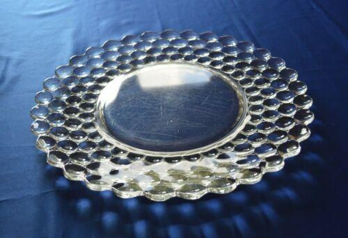 "Westmoreland  Glass Thousand Eye Torte Plate 14 1/4"""