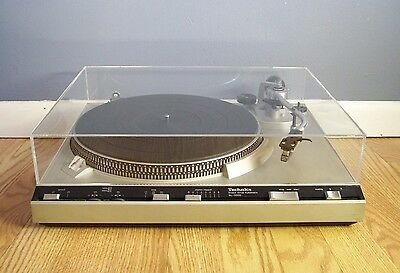 "TECHNICS SL 3300 ""NEW"" ACRYLIC DUST COVER FOR SL 3200, D1, D2, D3 TURNTABLE tweedehands  verschepen naar Netherlands"