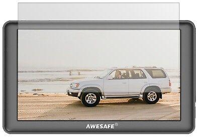 2x Schutzfolie für AWESAFE GPS Navi 7 Zoll Display Folie matt Displayschutzfolie