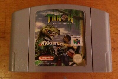 Turok Dinosaur Hunter N64 Nintendo 64
