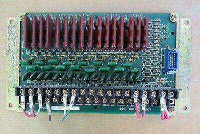 Ikegai Ssr Output Unit P001 02090037 Cnc Lathe Board