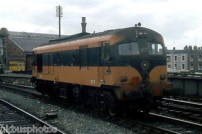 CIE 017 Dublin Connelly 1982 Eire Rail Photo