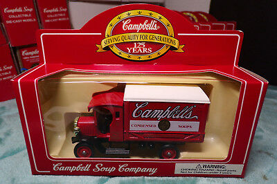 Campbells Soup Company   Die Cast Truck Lledo   Red   White   Soup Truck    8