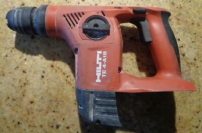 Hilti Rotary Hammer Drill Te 4-a18 Tool Only
