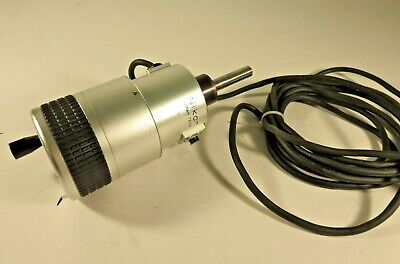 Nikon Model 74354 Photoelectric Micrometer Head For Profile Projector 0-55mm