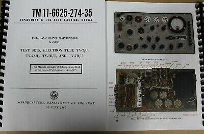 New SSTL Handle Assembly for the TV-7 Tube Testers TV-7//U TV-7A//U TV-B//U TV-7D//U