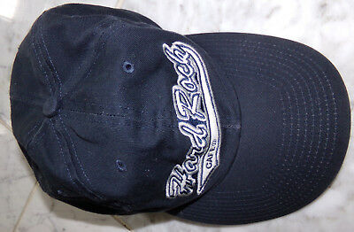 HARD ROCK CAFE Paris Embroidered Adjustable Black HAT CAP