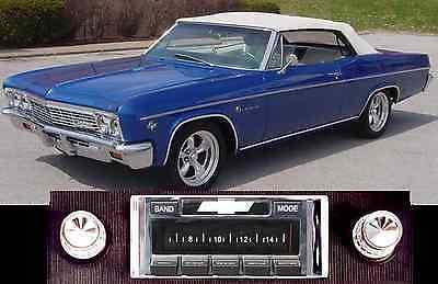 USA-630 II* 300 watt '66 Impala Bel Air Caprice AM FM Stereo Radio iPod USB Aux