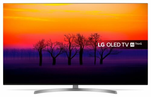 LG OLED55B8SLC 55 Inch 4K Ultra HD Freeview HDR Smart WiFi OLED TV - Black.