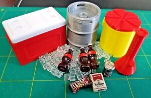 COMBO DEAL - RC 1/10 Scale Cooler Party Pack #1 Rock Crawler Dollhouse Accessory