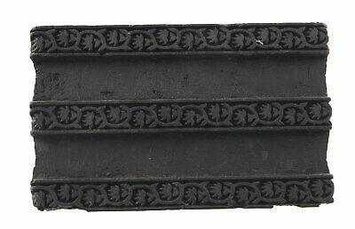 Bunta Wooden stamp printing Textile Batik 17cm antique Rajasthan India 2365