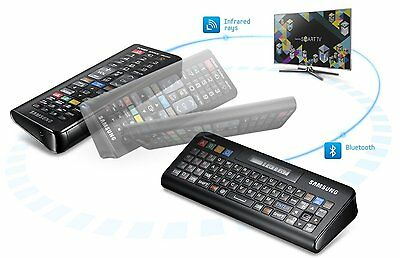 SAMSUNG Smart 2in1 QWERTY Remote Control For Samsung SmartTV RMC-QTD1 Brand New