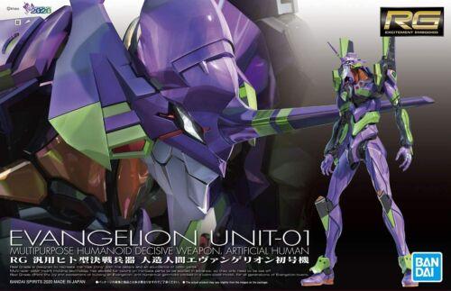 BANDAI Neon Genesis Evangelion RG Figure Eva Unit 01 EVA 15cm Japan F/S NEW