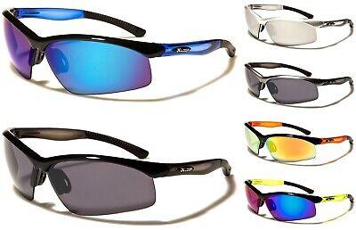 X-Loop Herren oder Damen Sonnenbrille Wrap Sports Radfahren Laufen Sommer Neu