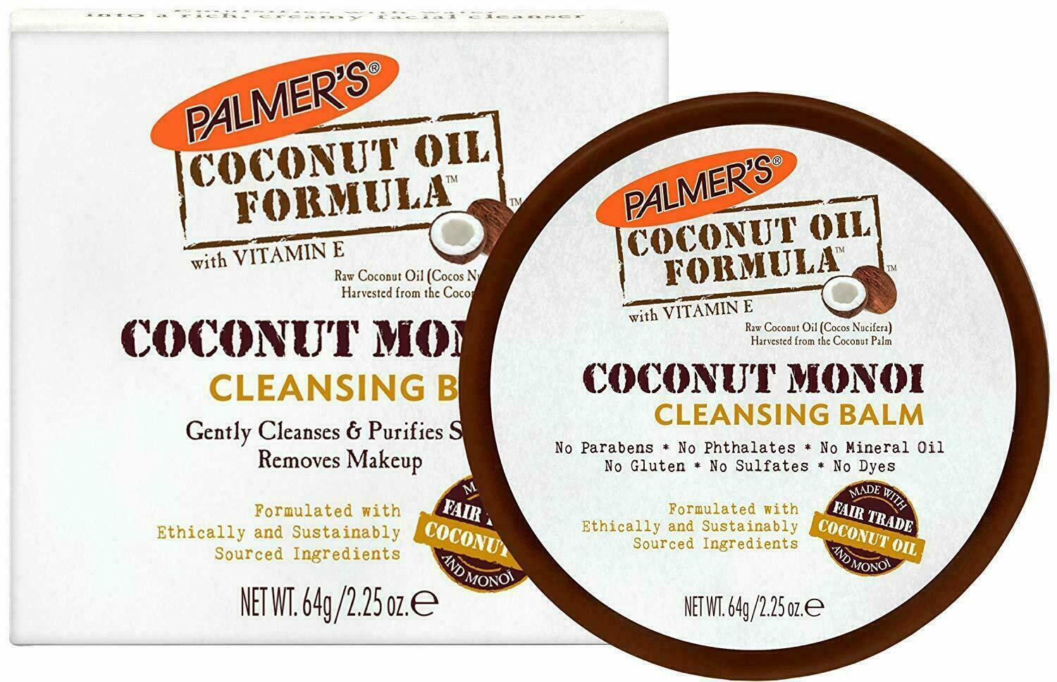 Palmer's Coconut Oil Formula with Vitamin E Cleansing Balm,