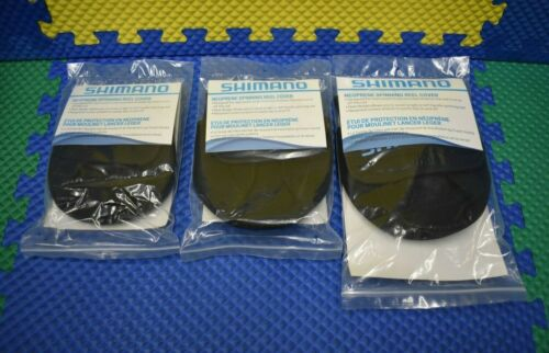 Shimano Neoprene Spinning Reel Covers ANSC SM, MED, LG CHOOSE YOUR SIZE