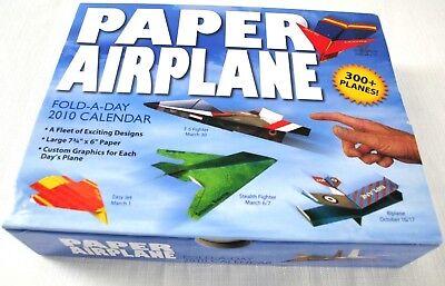 Fold A Paper Airplane (Paper airplane Fold-a day 2010 Calendar)