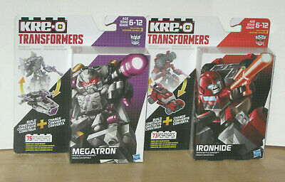 Transformers G1 Kre-O Battle Changers Ironhide & Megatron NIP VHTF