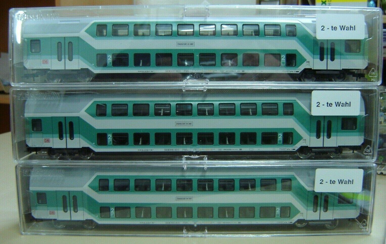 Fleischmann 5734 K Rarität  Doppelstockwagen Sihltalbahn neu in OVP
