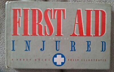 A Handy Guide to First Aid for the Injured -BOY SCOUTS OF AMERICA 1937 ZWETSCH