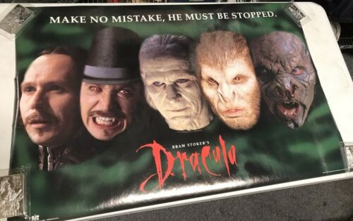 Bram Strokers Dracula Francis Ford Coppola Movie Poster 1992 Gary Oldman JW593