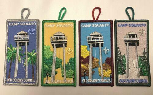Camp Squanto 4 Seasons Patch Set