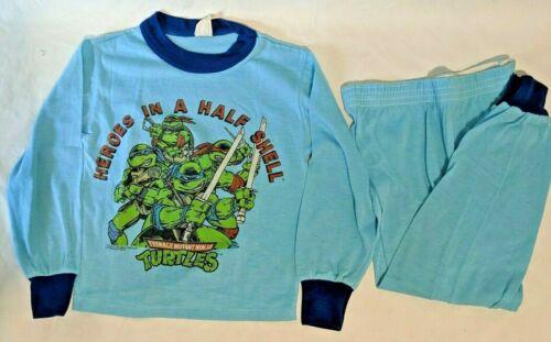 Vintage 1990 Teenage Mutant Ninja Turtles Shirt Boys Size 8