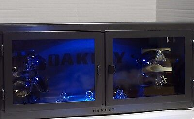 LED Oakley Sunglass Display Case stand sunglasses & watches counter top shades m
