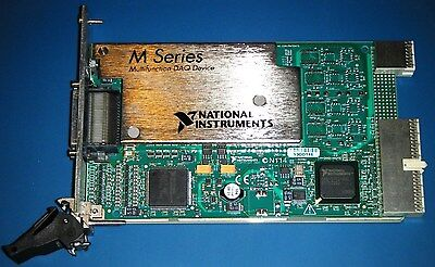 Ni Pxi-6254 32ch 16bit M-series Multifunction Daq National Instruments Tested