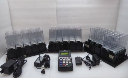 LRS TX7470 Paging Transmitter with 72x RX-AT4NP Pagers