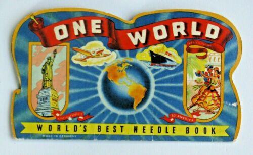 Vintage ONE WORLD, World