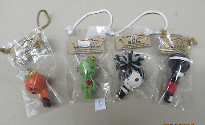 Vintage Halloween The String Doll Gang Punkin Safety Boy Bella Monster Man MIP D](Vintage Halloween Safety)