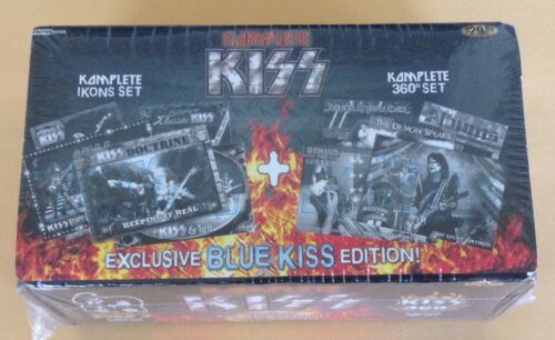2009 Press Pass KISS Complete 360 Trading Card Factory Sealed Set