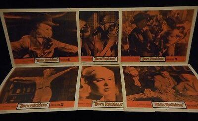 Mamie Van Doren Born Reckless 1959 6 Lobby Card Lot Bad Girl Exploitation
