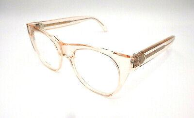 Authentic CELINE Transparent Light Pink Eyeglasses CL50019I - 072 *NEW*  (Light Pink Glasses)