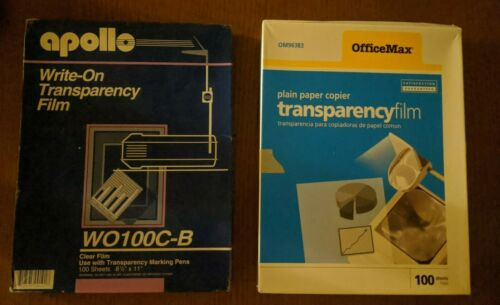 Transparency Film - Letter size - lot of 200