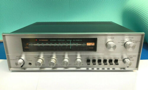 Pioneer SX 1000TW Stereo Receiver Vintage Working with speaker connectors