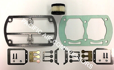 Ss3l3 Ss3 Ingersoll Rand Valve Kit W Gaskets And Air Filter 54410667