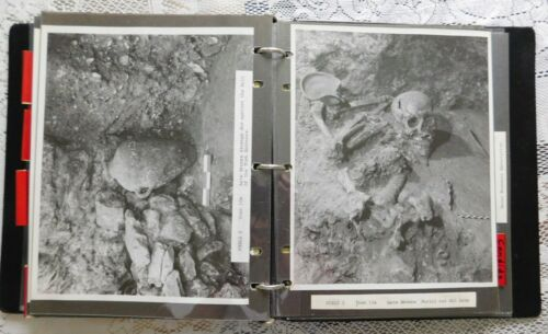 Original binder of 70 photos of the Tel Gezer archaeological site, 1964-1970