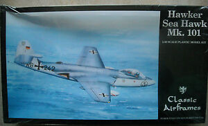 Classic-Airframes-1-48-Hawwker-Sea-Hawk-Mk-101-West-German-Navy-Indian-Navy