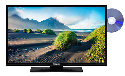 Telefunken XF32D401D 81 cm (32 Zoll) TV Full HD, Smart TV, Triple Tuner, DVD